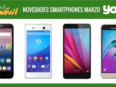Honor 5X, Sony Xperia M5, Samsung Galaxy J3 y Alcatel Pop 3: novedades en Yoigo y sus precios