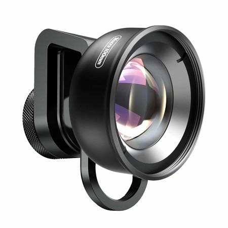 Apexel - Lente Macro para iPhone X/8/8plus/7/Plus Samsung Galaxy S10/S10 Plus Huawei y la mayoría de Smartphones (Alta definición, 100 mm)