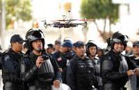[Actualizado] Policia utiliza Drones para vigilar a manifestantes en la Ciudad de México