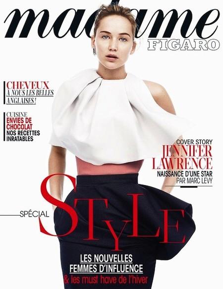 Clases de estilo con Jennifer Lawrence para la revista Madame Figaro