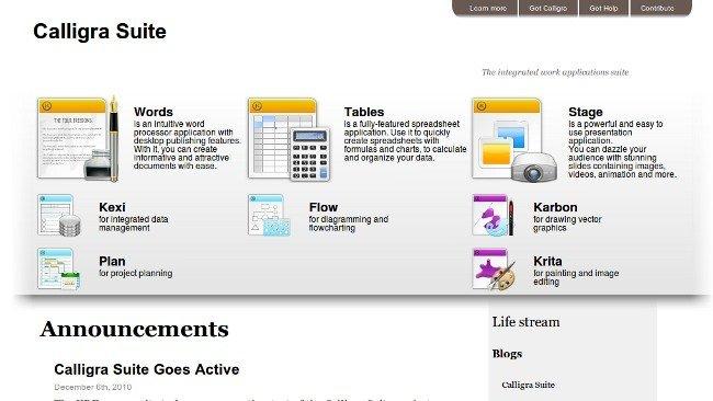 Adios KOffice, hola Calligra Suite: KDE le mete vida a su suite ofimatica