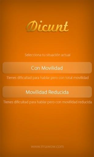 La aplicación Dicunt de Imawow que permite comunicarse a aquellas personas que tienen dificultades para hablar