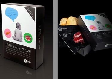 El Pack Bebé de Mas Gourmets, sabroso regalo para papás recientes