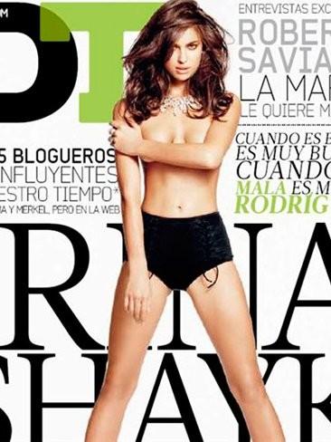 Irina Shayk, la más sexy entre las sexys, se nos despelota en DT