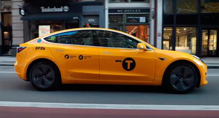 Así es el único Tesla Model 3 convertido en taxi que ya circula por Nueva York