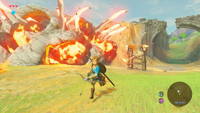 Zelda Breath Of The Wild Combate