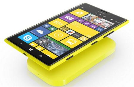 Nokia Lumia 1520 cargador Qi