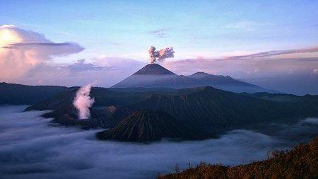 Indonesia: Volcanes en el Parque Nacional de Bromo Tengger Semeru