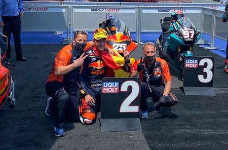 Raul Fernandez Cataluna Moto2 2021