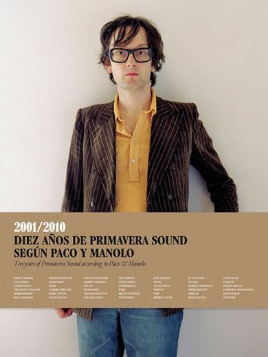 Diez años de Primavera Sound según Paco y Manolo: el libro del festival