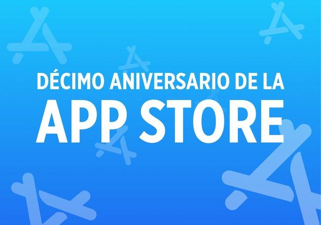 Décimo aniversario App Store iOS