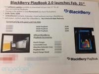 BlackBerry Playbook OS 2.0 verá la luz el próximo 21 de febrero