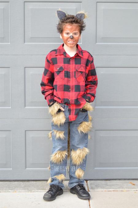 Disfraz Halloween Facil Barato Hombre Lobo 2