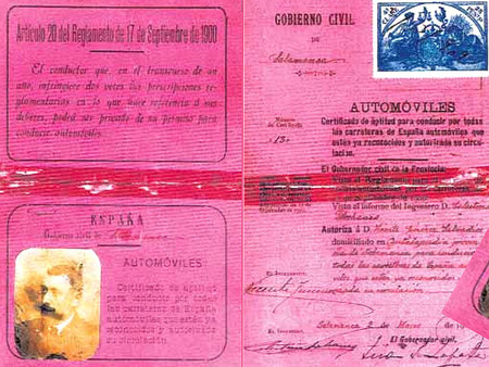 Primer Permiso Conducir Espana