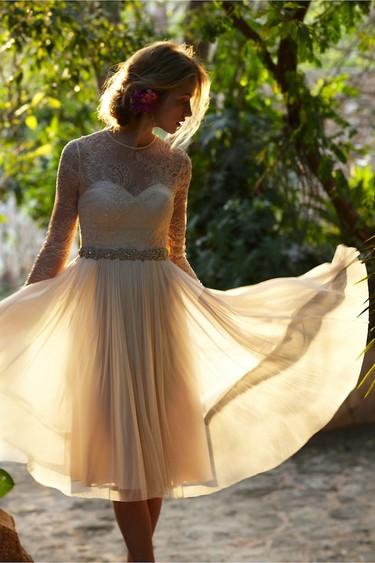 ¡Novia de corto, novia atrevida! 11 vestidos con los que lucirás como nunca