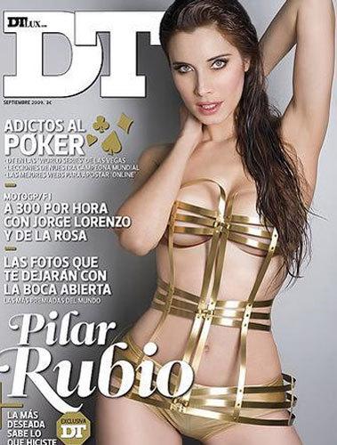 Pilar Rubio portada de la revista DT