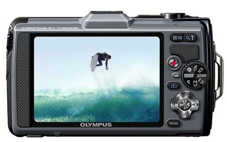 Olympus TG-1 pantalla OLED