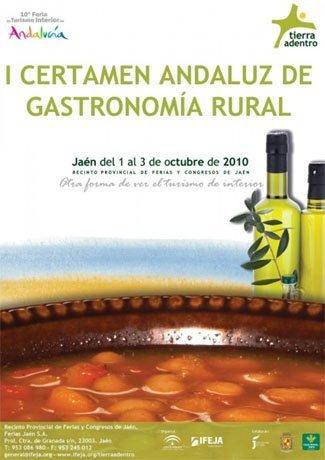 """I Certamen andaluz de gastronomía rural """"Tierra Adentro"""""""