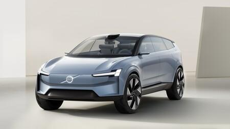 Volvo Concept Recharge: la próxima generación de coches eléctricos de Volvo tiene pantallas enormes, Android y se conecta al móvil