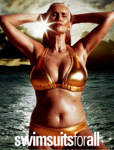 Ser curvy o tener canas ya no son un hándicap para Sports Illustrated