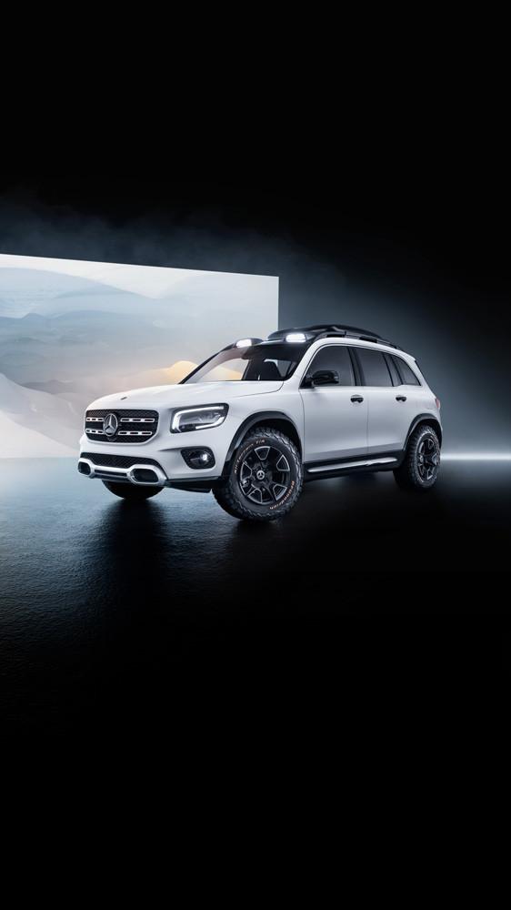 Foto de Mercedes-Benz GLB Concept (23/26)