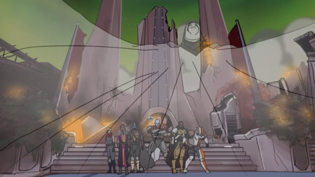Guardians, Ho! es el opening fan-made de los Thundercats con los personajes de Destiny 2