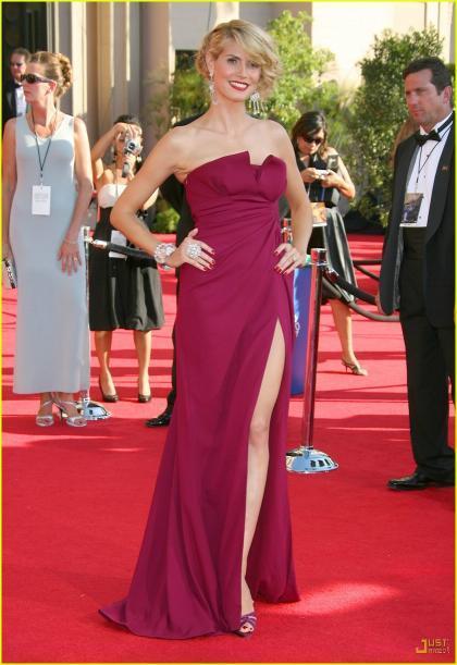 Heidi Klum, la reina de los Emmys