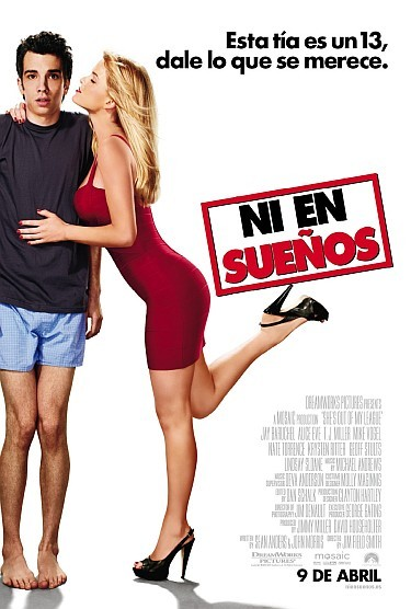 'Ni en sueños' ('She´s Out of my League'), cartel y tráiler