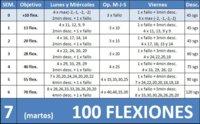 Apúntante al reto: Hacer 100 flexiones seguidas en 6 semanas (VII)