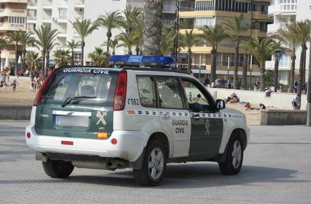 Nissan X-Trail Guardia Civil