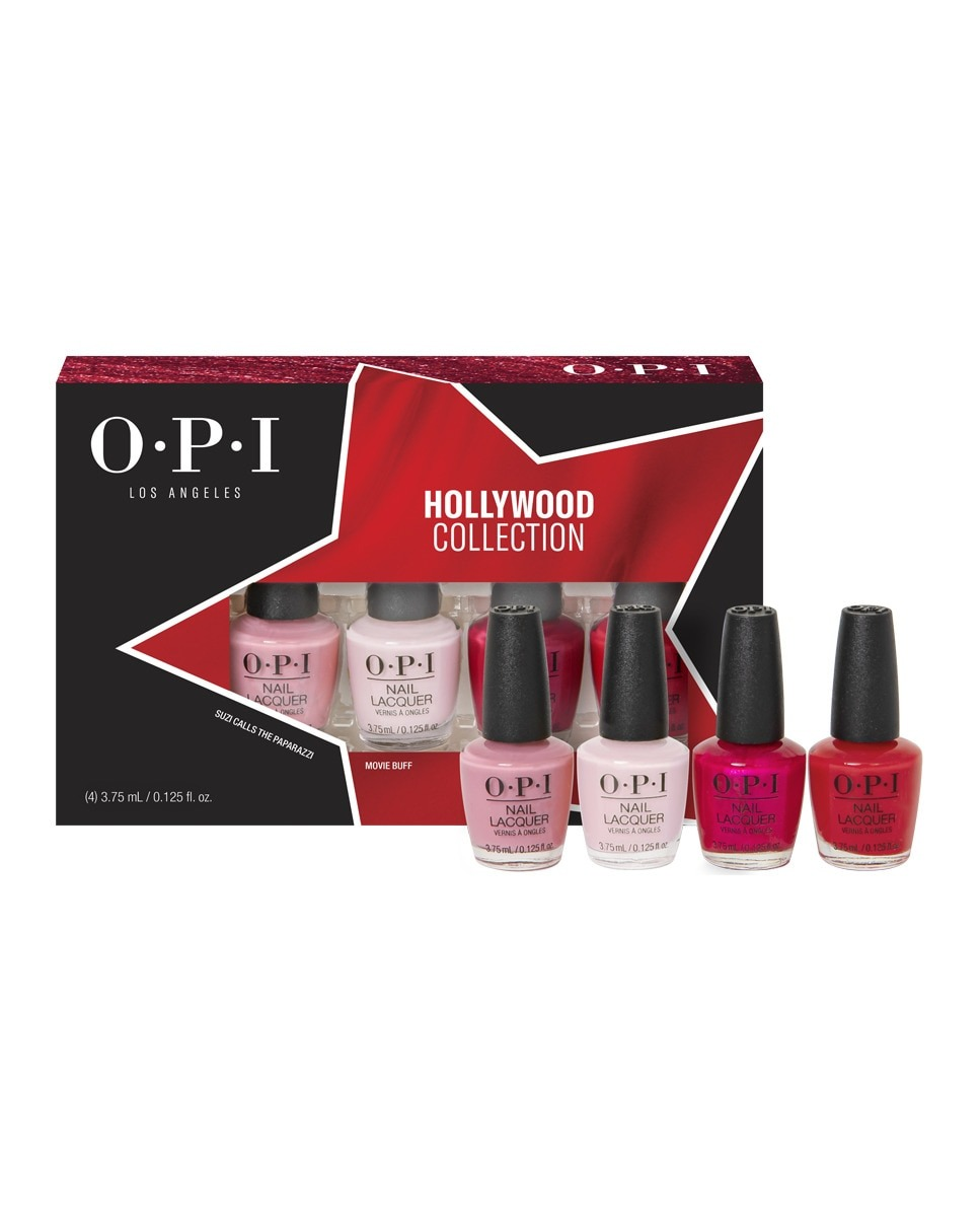 Pack 4 Mini Lacque Hollywood OPI