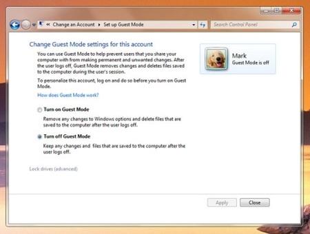 """Microsoft elimina el """"Modo invitado"""" de Windows 7"""