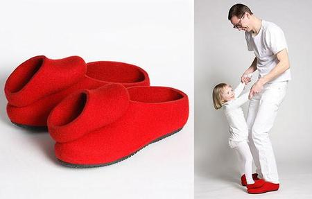 Zapatos dobles para bailar con papá