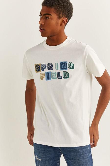 Camiseta Logo Springfield