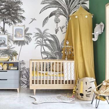15 novedades de Maisons du Monde: muebles y accesorios bonitos y funcionales para habitación de bebé