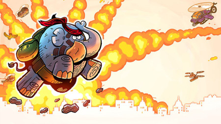 Tembo The Badass Elephant anuncia que llegara este mes de julio a PS4, Xbox One y PC