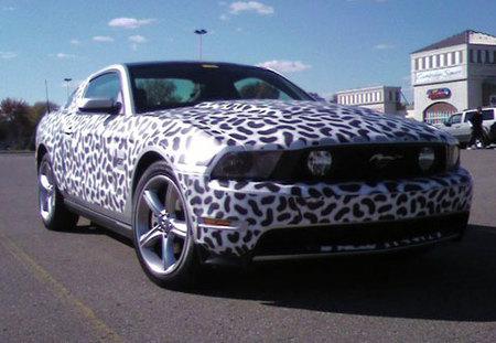Nuevas y reveladoras fotos espía del nuevo Ford Mustang GT