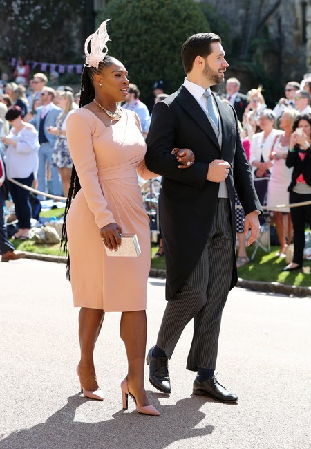 boda harry meghan serena williams