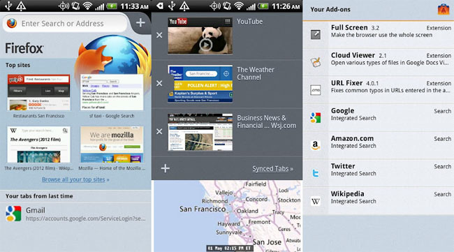 Firefox 14.0 para Android