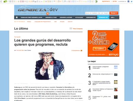Estrenamos nuevo diseño en Genbeta Dev