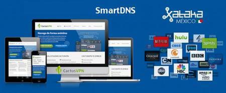 SmartDNS, utiliza Netflix de Estados Unidos y más desde México