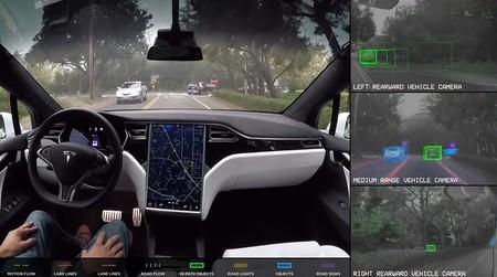 Esto es lo que ve el piloto automático de Tesla cuando toma el control total del auto (Video)