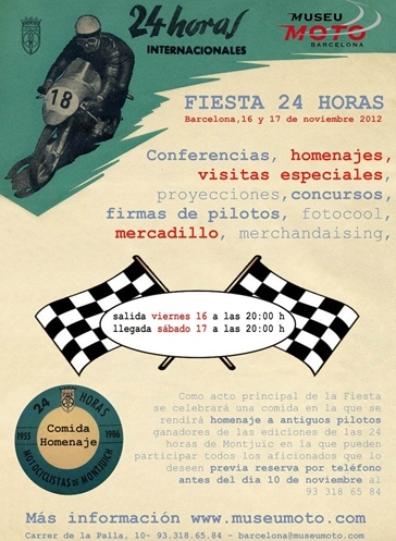 Cartel fiesta 24 Horas