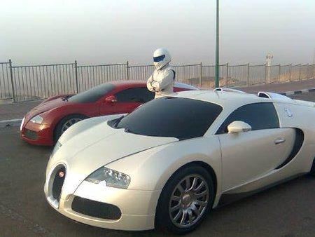Bugatti Veyron Top Gear