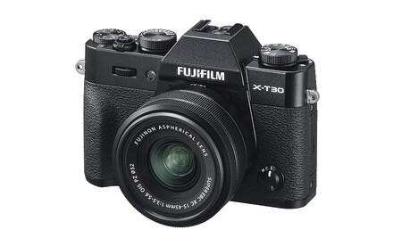 Fujifilm X T30 15 45 Black