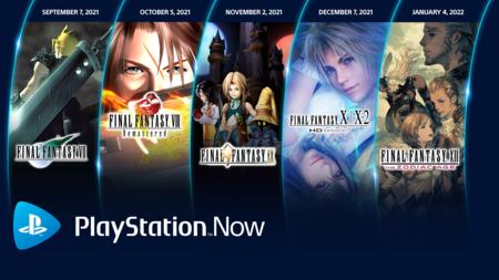 Final Fantasy en PlayStation Now