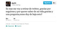 A Guti y a Twitter casi se les rompe el amor de tanto usarlo