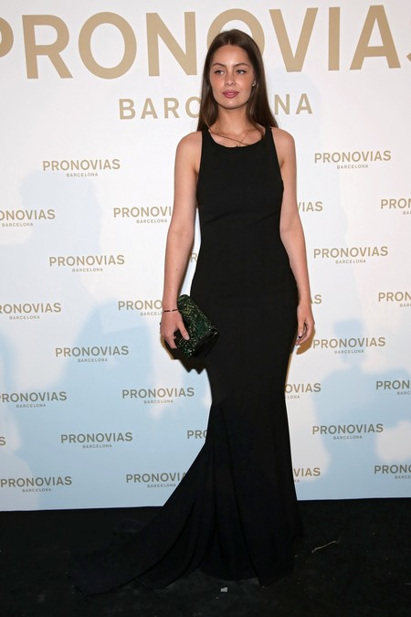 Marie Ange Casta Photocall Pronovias Fashion Show