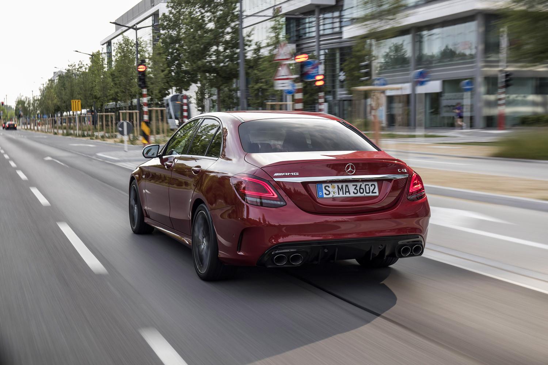 Foto de Mercedes-Benz Clase C 2018, toma de contacto (201/255)