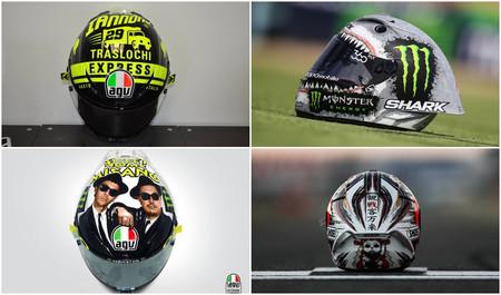 Aún no ha acabado MotoGP 2016: estos son los ocho cascos especiales que no te dejaron indiferente